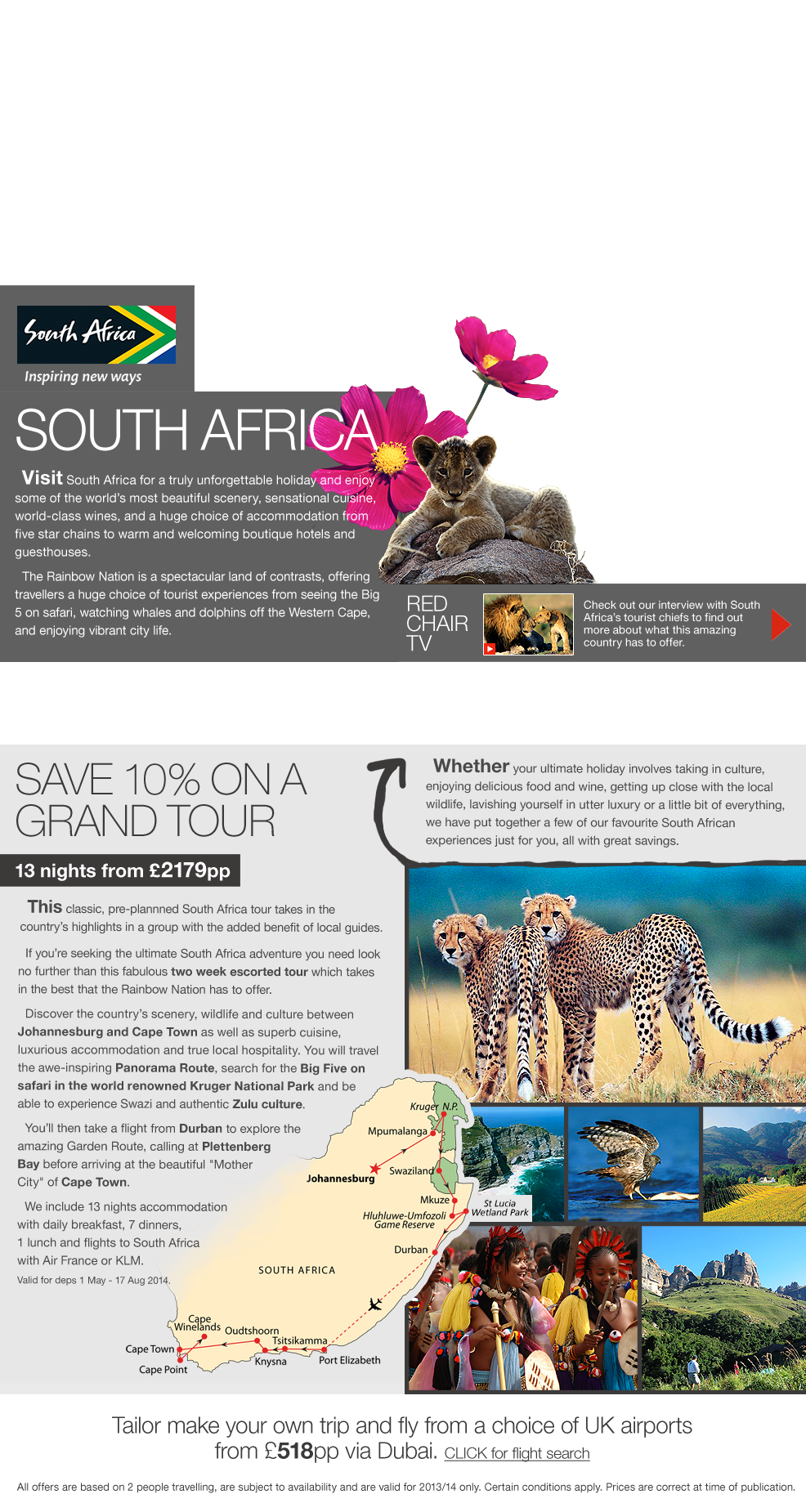 South Africa Offers
