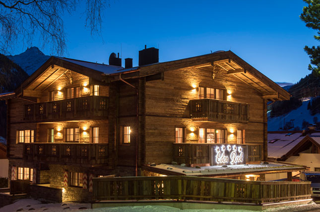 Stay in the World's best new ski chalet