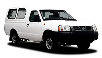 Toyota 4x4 Single Cab with Canopy