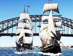 Sydney Harbour Tall Ships Lunch Cruise