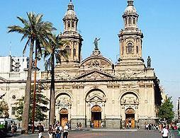 Santiago City Tour & Santa Lucia Hill