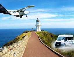 Cape Reinga Fly & Drive Tour