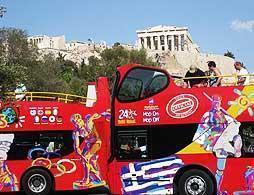 Athens Sightseeing Bus Tour - 24hrs + 1 Day Free
