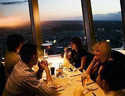 Berlin TV Tower with VIP Dinner