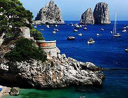 Capri and Anacapri from Naples