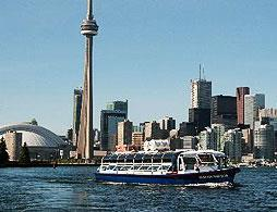 Toronto Harbour and Island Boat Tour