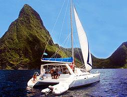 Catamaran Sail of St Lucia