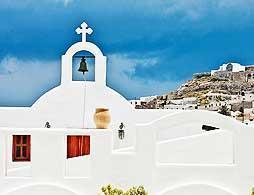 Santorini in a day by Bus & Boat