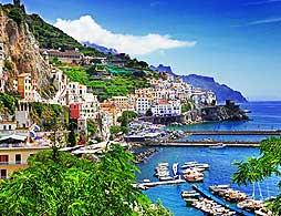 The Amalfi Drive from Sorrento