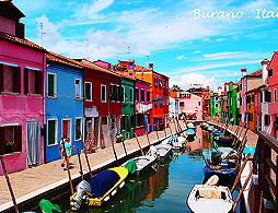 Murano, Burano & St Mark's from Venice