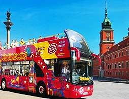 Hop on Hop off City Sightseeing Warsaw