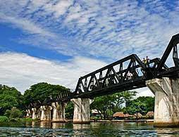 River Kwai Tour with Boat & Train Rides