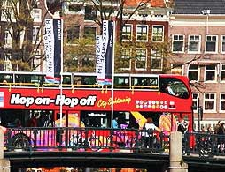 Amsterdam Guided City Tour by Bus