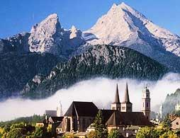 Bavarian Mountains and Berchtesgaden