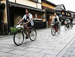 Kyoto Back Street Bike Ride
