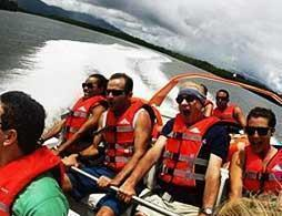 Fast Jet Boat Ride