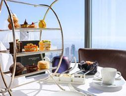 Atmosphere Tea at Burj Khalifa