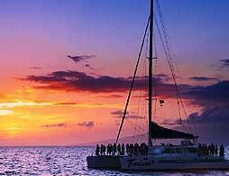 Sailing Sunset Cruise by Catamaran