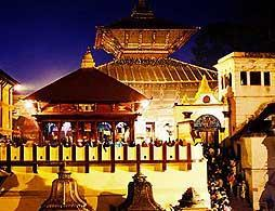 Pashupatinath and Boudhanath