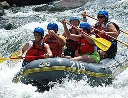 Whitewater Rafting on Trishuli River