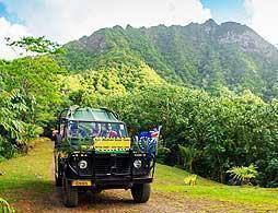 Raro Safari 4WD inland tour