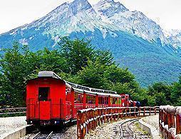 Tierra Del Fuego and End of World Train