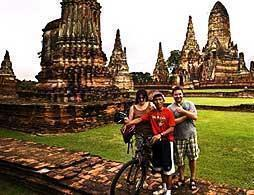 Colours of Ayutthaya by Bike