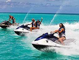 Jet Ski Adventure - K.S. WaterSports (Dockyard)