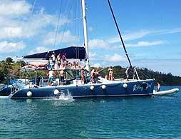 Rising Son Catamaran Adventure