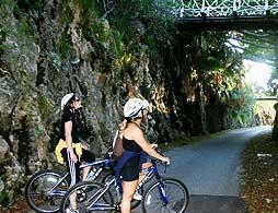 Fantasea Adventure Bus - Railway Trail Biking