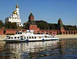 Moscow Boat Tour