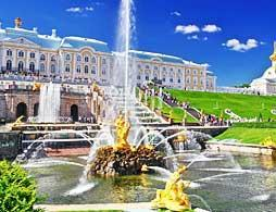 Visit to Peterhof Palace and Gardens
