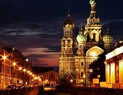 St Petersburg City Tour by Night