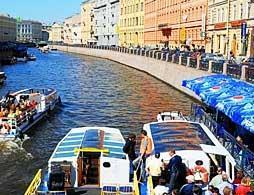 St Petersburg Boat Cruise