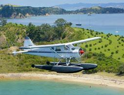 Auckland Seaplanes Gulf Islands Scenic flight