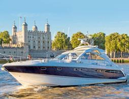 Luxury Speedboat on the River Thames