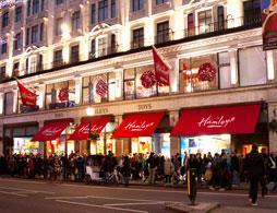 Exclusive access to Hamleys the toy store