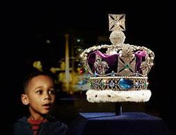 Private viewing of the Crown Jewels
