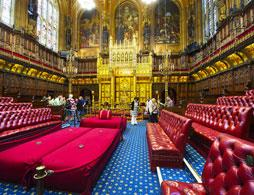 Private tour of the Houses of Parliament