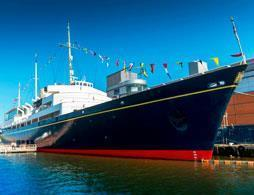 A Private morning tour of Royal Yacht Britannia