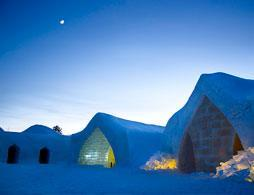 Visit the Arctic SnowHotel