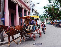 Special Colonial Tour on Horse Carriage