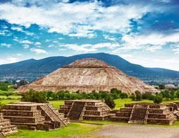 Teotihuacan Pyramids & Shrine of Guadelupe