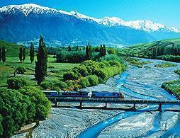 TranzAlpine Train to Greymouth