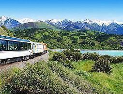 Coastal Pacific Train - Kaikoura