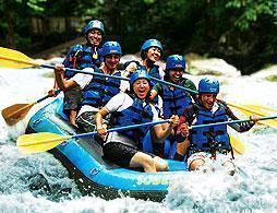 Ayung Whitewater Rafting