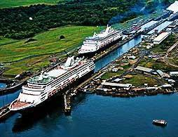 Complete Panama Canal Transit