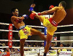 Muay Thai Evening Boxing Match