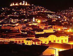 Panoramic Quito by night with dinner