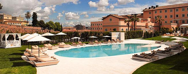 Gran melia rome villa agrippina hotel reservations call for Villa agrippina rome